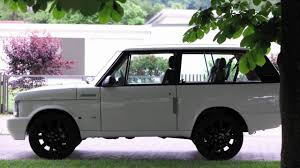 old white land rover sally