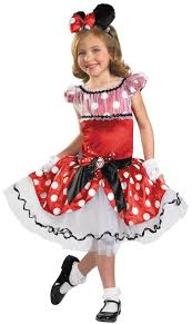 Minnie Mouse Halloween Costume Toddler Disney Prestige Minnie Mouse Girls Costume Costume Craze