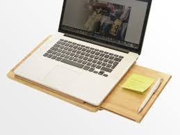 Laptop Holder For Desk Laptop Stand Desk Bamboo Office Supplies