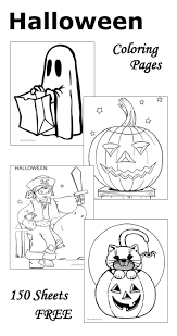 Halloween Craft Printable by Halloween Coloring Pages For Teachers Coloring Page