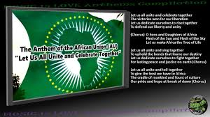 union au anthem let us all unite and celebrate together