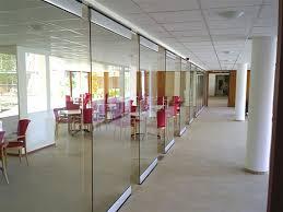 frameless glass sliding doors china office access use automatic operation frameless glass