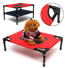 Camping Folding Bed Dog Pet Cat Elevated Bed Folding Portable Raised Camping Indoor