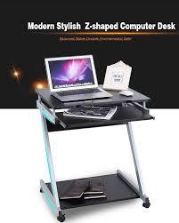 Mobile Computer Desks Workstations Desks Computer Desk For Standing Up Executive Standing Desk
