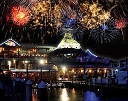 Destin U0027s Best Seafood Restaurants And Markets Florida Travel Fireworks Over Aj U0027s Seafood And Oyster Bar On Destin Harbor