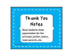 thank you notes thank you notes bundle staff appreciation by all things elementary
