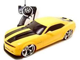 camaro rc car remote 2006 chevrolet camaro concept yellow 1 10 rc