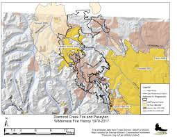 Wildfire Map Northwest 2017 by Wildfire Information