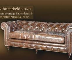 rembourrage canapé cuir canap chesterfield cuir noir 3 places fm4industry org
