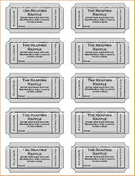 templates for raffle tickets 6 free printable raffle tickets template teknoswitch
