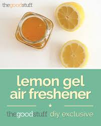 clean naturally with a lemon gel air freshener thegoodstuff