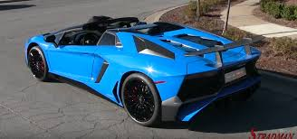 Lamborghini Aventador Spyder - baby blue lamborghini aventador roadster driving interior exterior