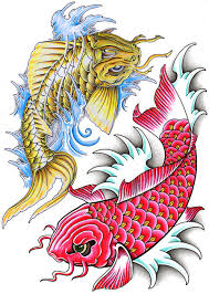 all about tattoos and ink koi fish