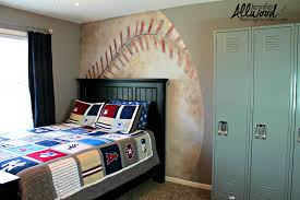 interior designs fascinating new york yankees locker room wall