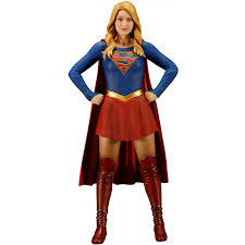 dc universe halloween costumes artfx dc universe supergirl 1 10 scale pre painted figure supergirl