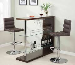 Kitchen Bar Table Ideas by Small Bar Table Contemporary Glass Small Bar Unit Dc Furniture