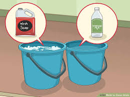 how to clean wall stains 4 ways to clean walls wikihow