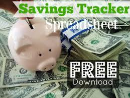 Track My Spending Spreadsheet Coupon Savings Tracker Tool