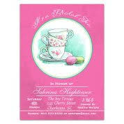 tea party bridal shower invitations bridal tea invitations paperstyle