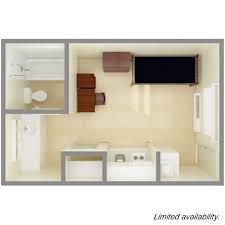 epsilon community delta 6 private room w kitchenette top view