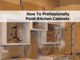 Kitchen Cabinet Cleaning Service How To Professionally Paint Kitchen Cabinets
