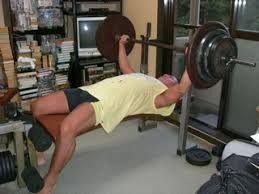 Bench Press No Spotter Doing Bench Press Alone At Home What Would You Do If
