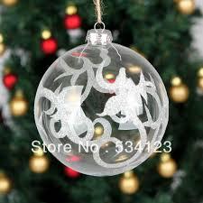 tree decorations glass balls decorating