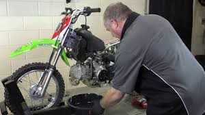 how to clean a carburetor on a dirt bike kawasaki klx