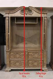 Entryway Armoire by 7 Useful Tips To Measure Your Space Colleen U0027s Classic Consignment