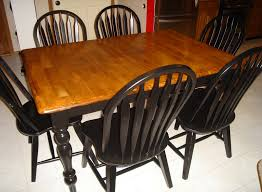 Tables Kitchen Furniture Mesmerizing Refinish Kitchen Table And Chairs 63 For Your Antique