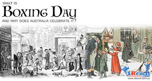 what is boxing day and why does australia celebrate it iremit