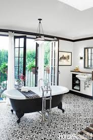 Black And White Bathroom Tile Design Ideas Wonderful Black And White Bathroom Tiles Floor Damask Pattern