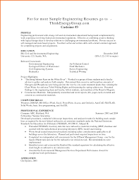 Sample Engineering Resumes by Entry Level Engineering Resume Free Resume Example And Writing