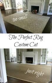 Thrift Rugs Living Room Solution Custom Cut Rug Kelly Elko