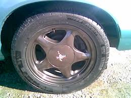painting turbine rims gloss black mustang forums at stangnet