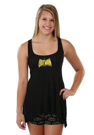 batman handkerchief tank and shorts set for women