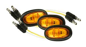 grote led trailer lights lighting 47973 3 micronova led clearance marker light bulk pack