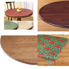 elastic plastic table covers rectangle elasticized table cover tablecloths ebay