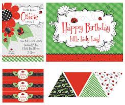 ladybug party supplies lifes little celebration