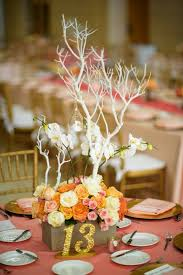 Coral Wedding Centerpiece Ideas by 43 Best Table Numbers Images On Pinterest Marriage Wedding
