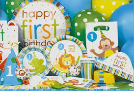 1st birthday party supplies sweet at one boy special events party supply store in ak