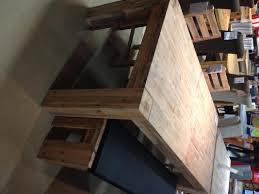 table de cuisine bois table cuisine bois massif salle a manger blanche maison brut