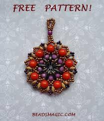 pendant pattern beads magic