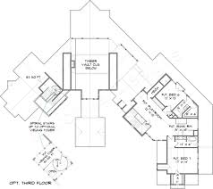 lake burton lodge mountain house plan rustic floor plans