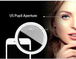 circle light for video led selfie light clip on circle light battery powered ring light