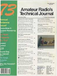73 magazine delta loop antenna issue antenna radio broadcast