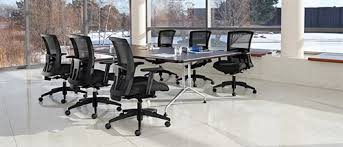 Rectangular Boardroom Table Global Alba 8 U0027 Rectangular Conference Table With Metal Bases