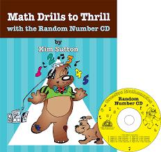 math drills to thrill with the random number cd creative mathematics