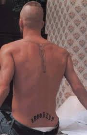 the popular david beckham back tattoos tattoomagz