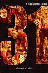 rob zombie unveils poster for new horror film 31 gets r rating